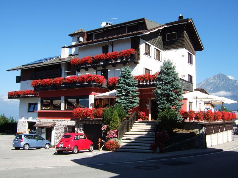 Terrazza sulle Dolomiti